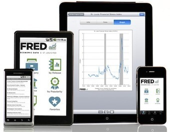 The FRED App Available for iOS and Android Devices - St. Louis Fed | Ipub2 | Scoop.it