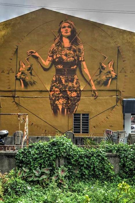 A Street Art Festival Takes Root Across The Walls Of Malaysia | Street Art Planet | Scoop.it