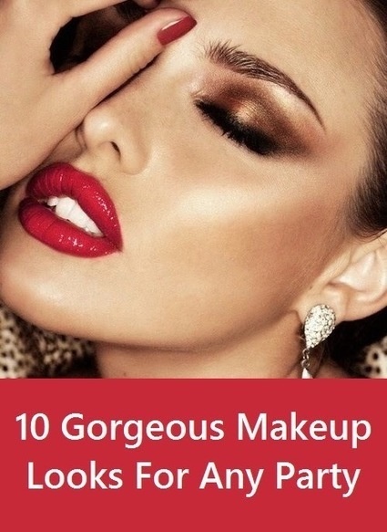 10 Gorgeous Makeup Looks For Any Party | My Favorite Things | Hairstyle Tutorials | Scoop.it