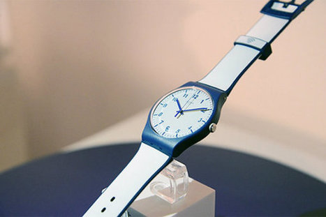 Time for innovation: Swatch introduces contactless payment watch  - Retail Gazette | Payments 2.0 | Scoop.it