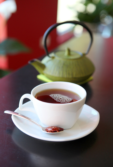 Green tea inhibits weight gain: study   Food issues   Scoop.it
