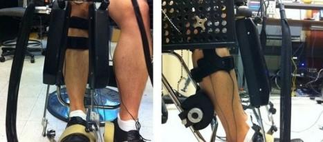 Anklebot, el robot que mide la fuerza de nuestro tobillo | Medisport | Scoop.it