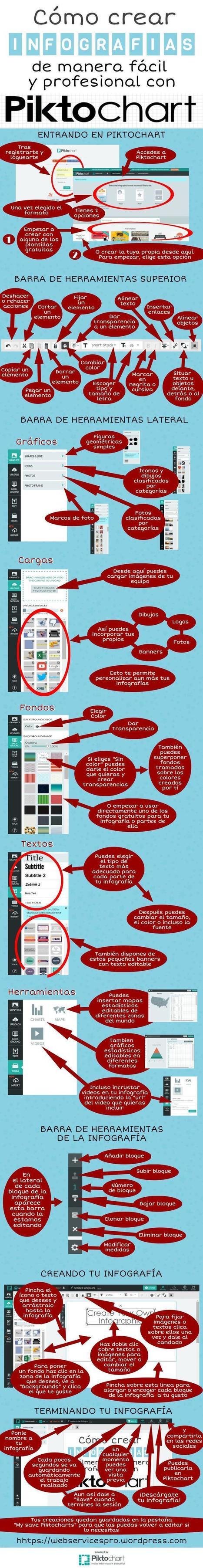 Cómo crear infografías con Piktochart | Recursos per a l'Escola Maregassa | Scoop.it