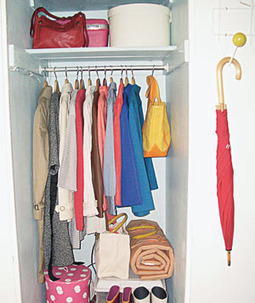 3 Ways to Transform a Closet Into A Home Office | Organized Office | Scoop.it