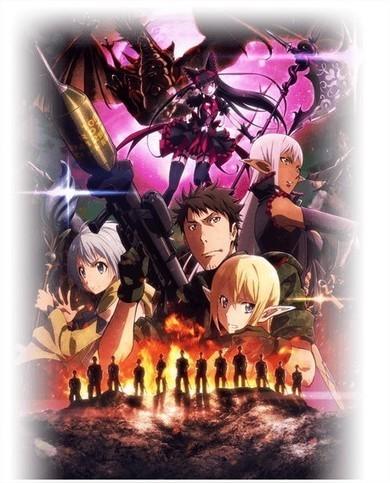 Anime: Video promocional y tema para GATE 2 | Noticias Anime [es] | Scoop.it