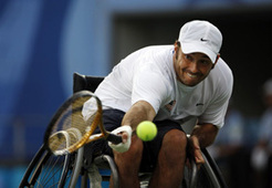 David Wagner - Paralympic Gold Medalist - Wheelchair Tennis | Fun, Fitness and Facts | Scoop.it