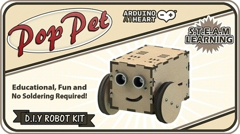 $70 PopPet is an Arduino-powered robot anyone can build - Geek | Raspberry Pi | Scoop.it