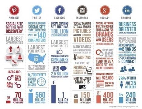 Infographie : data et réseaux sociaux - Le Journal du Geek | La com, le web, tout ça | Scoop.it