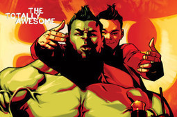 COMICS: 4-page Preview & Variant Covers for 'THE TOTALLY AWESOME HULK #1 | Books Related | Scoop.it