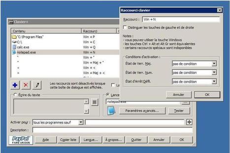 Définir ses propres raccourcis clavier, Clavier+   Ballajack   Ma boîte à outils   Scoop.it