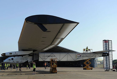 Solar-powered plane touches down in Seville after 70-hour transatlantic flight | iEduc | Scoop.it
