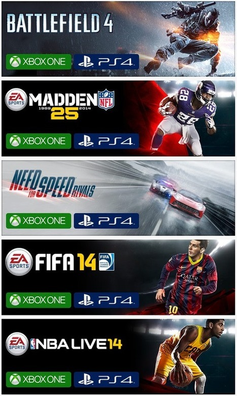 $10 Off On PlayStation 4 And Xbox One Games – Including Battlefield 4 And NFS: Rivals | Info-Pc | Games | Scoop.it