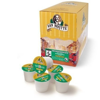 Van Houtte Cafe Amazonia Blend, Organic Fair Tangy and Woodsy Flavors Trade Coffee K-Cups for Keurig Brewers | Fitness | Scoop.it