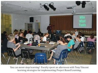 Tony Vincent's Learning in Hand - Blog - Project-Based Learning & iPads at St. Stephen's | iLearn iPads | Scoop.it
