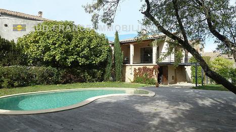 Maison familiale avec piscine à vendre en région d'Uzès : | Sud-France-Immobilier Infos | Scoop.it
