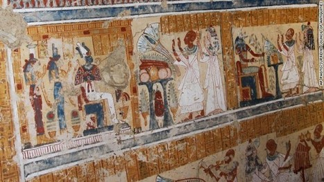 Tomb of ancient Egypt's beer maker to gods of the dead discovered | Food History & New Markets | Scoop.it