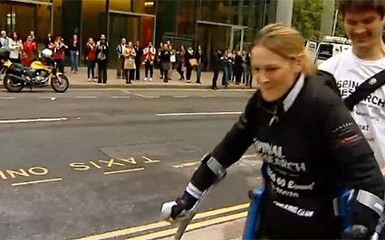 grinding.be » Blog Archive » paralysed woman completes London Marathon in bionic suit after 16 days | TechnoSurreal | Scoop.it