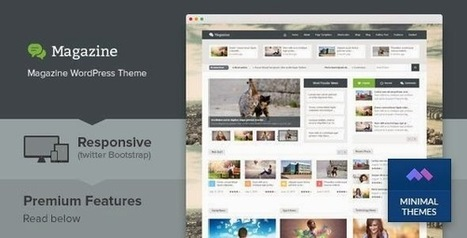 Magazine WordPress Theme | Free Download Template | Scoop.it