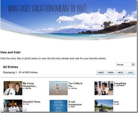 Loyalty Traveler - Starwood Win Your Dream Vacation Facebook Contest | Tourism Social Media | Scoop.it