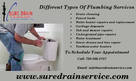 Different Types of Plumbing services | The Good Thing About Being a Plumber | Scoop.it
