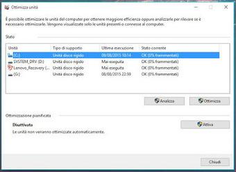 Deframmentare Windows 10 senza problemi | IVABELLINI | Scoop.it