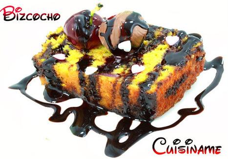 Bizcocho Casero - Recetas de Cocina. CUISÍNAME | recetitas | Scoop.it