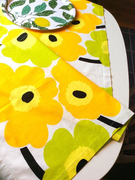 Handmade decorative Marimekko table runner | whats been spotted on etsy today? | Scoop.it
