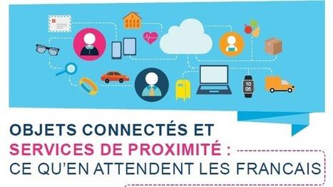 Les Français et les services de proximité : les bénéfices des objets connectés — Silver Economie | habitat seniors | Scoop.it