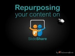 3 Keys to Repurposing Content on SlideShare | Backpack Filmmaker | Scoop.it