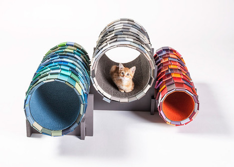 Architects design cat shelters for animal charity fundraiser | tecnologia s sustentabilidade | Scoop.it