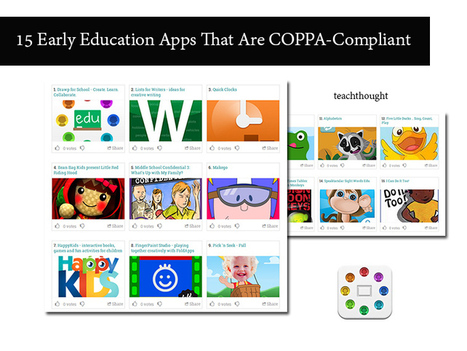 15 Early Education Apps That Are COPPA-Compliant | Edtech PK-12 | Scoop.it