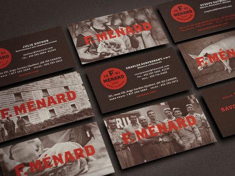 F. Ménard Designed by lg2boutique | Packaging Design Ideas | Scoop.it