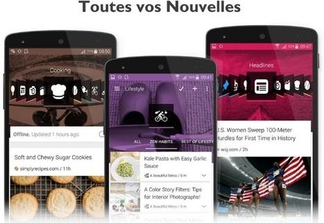 NewsTab : Le nouveau lecteur de flux RSS et de suivi des Tweets nationaux | Smartphones et réseaux sociaux | Scoop.it