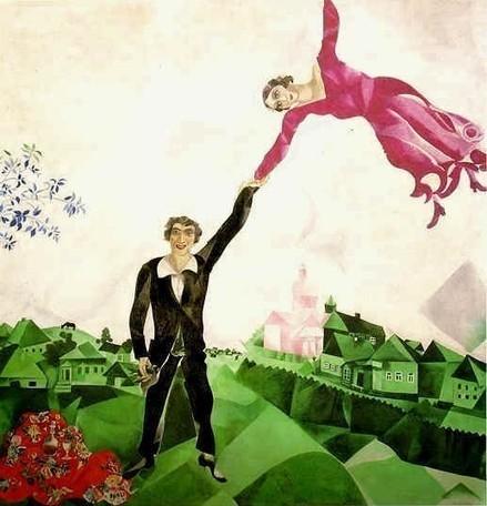 Marc Chagall, la Passeggiata - analisi del dipinto | Capire l'arte | Scoop.it