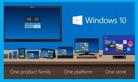 Microsoft Windows 10 va légaliser les copies pirates... et puis non | L'actualité du numérique pour les TPE | Scoop.it