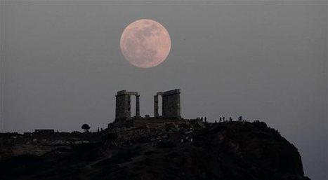 La luna llena sobre el cabo de Sunion | Mundo Clásico | Scoop.it