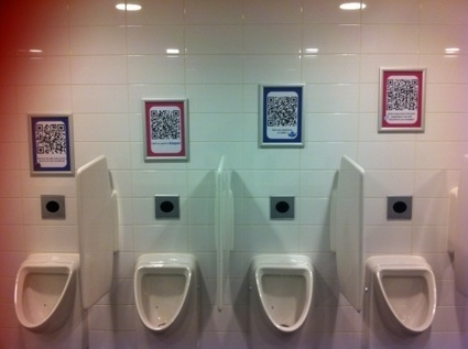 Picture of year in travel technology - QR Codes poised to head down the toilet | Tourism Social Media | Scoop.it