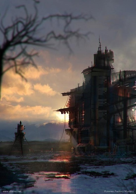 27 Beautiful Matte Painting That'll Take Your Breath Away | Art, photography and painting | Scoop.it