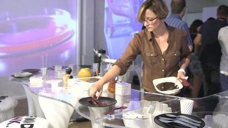 Inside a 3D Printing Restaurant | Technology in Business Today | Scoop.it