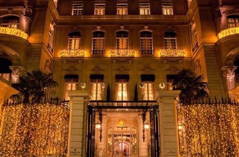 Au Shangri-La Paris, le Noël renversant de Pinel & Pinel bouscule les codes du luxe - Silencio | Hôtels de luxe | Scoop.it