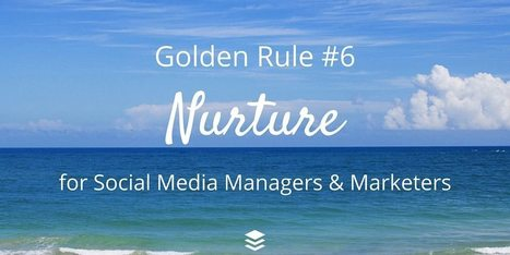 10 Golden Rules for Social Media Managers and Marketers - The Buffer Blog | SocialMoMojo Web | Scoop.it