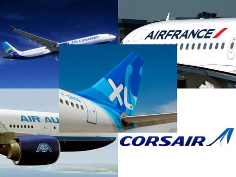 Air Caraïbes, Corsair, XL Airways et Air France et Air Austral renforcent leur présence aux Antilles et la Réunion cet hiver | Infos Tourisme Antilles Guyane Réunion | Scoop.it