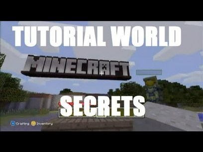Minecraft: Xbox 360 Edition - Tutorial World Secrets and Easter Eggs | Earn money by sharing Video | Scoop.it