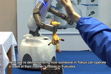 Kinect-Powered Robot Lets You Clean Up Your House Remotely - IEEE Spectrum | Robots and Robotics | Scoop.it