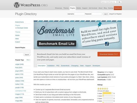 40+ essential WordPress plugins | Webdesigner Depot | Wordpress in Higher Education | Scoop.it