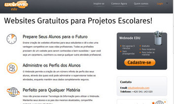 Webnode oferece conteúdo educativo gratuito   Portal Aprendiz   Banco de Aulas   Scoop.it
