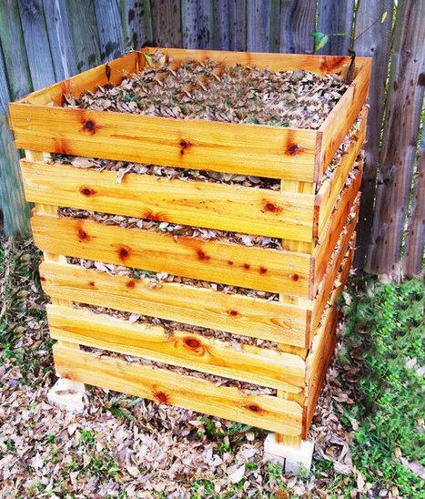 DIY Compost Bin   Free Garden Plans - How to build garden projects   Garden Plans   Scoop.it