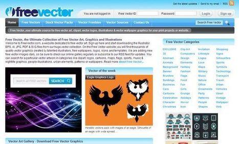 Freevector, enorme colección con miles de gráficos vectoriales gratuitos   Linguagem Virtual   Scoop.it