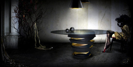 INTUITION TABLE by KOKET | What Surrounds You | Scoop.it
