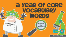 A Year of Core Vocabulary Words | Core Vocabulary | Scoop.it